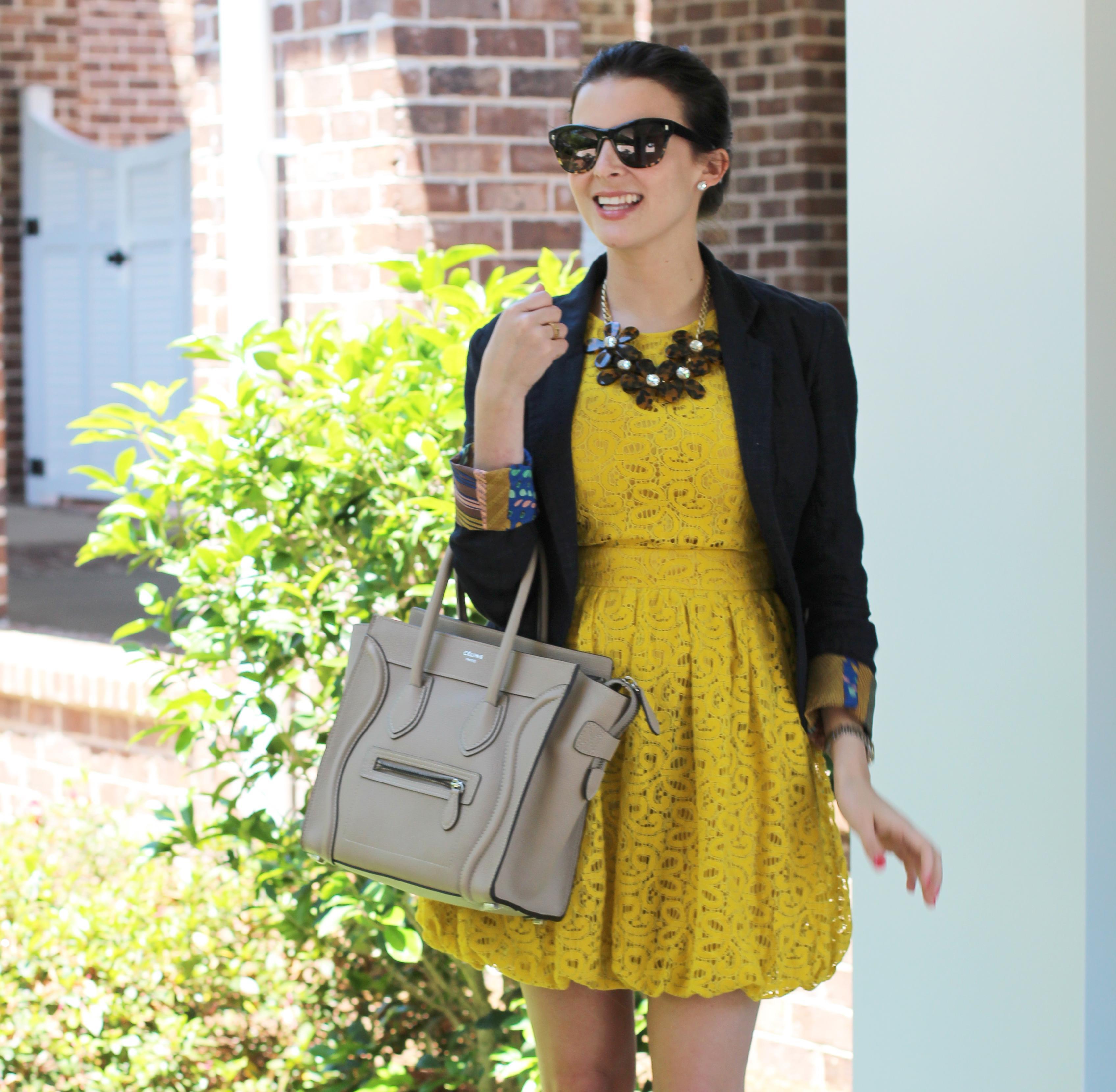 celine mini luggage tote yellow - Tortoise Flowers + C��line - Paperblog