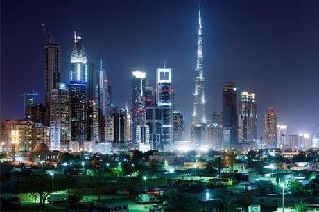 Night life Abu-Dhabi