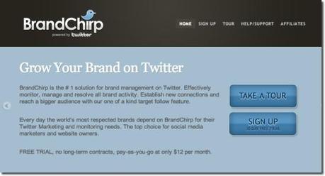 best twitter tool brand chirp