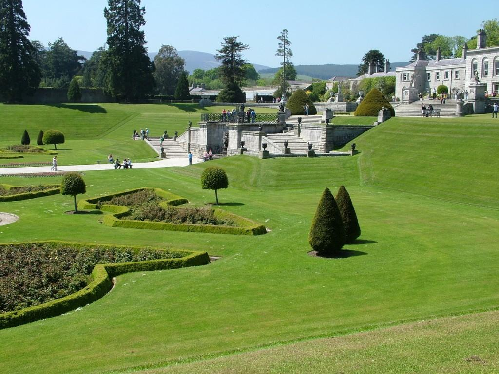 Powerscourt House And Gardens A World Of Floral Glory Ireland Paperblog
