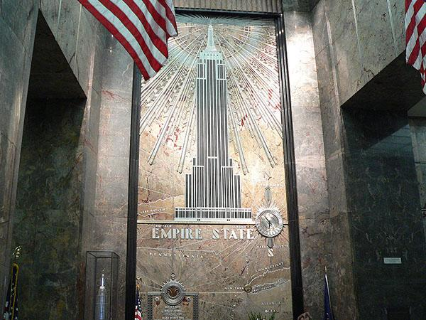 The Entrance Lobby Of Empire State Building Photo By Ken Thomas