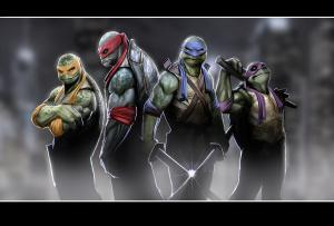 If these guys didn't come from ooze, I'm going to be pissed.