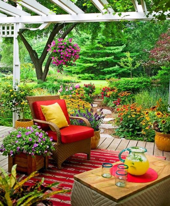 Home Design Ideas Outside: Summer Outdoor Decorating Ideas