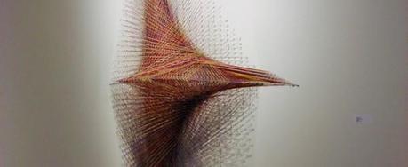 3D Thread Sculptures by Kendra Werst