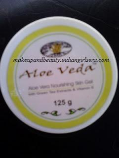 Aloe Veda Aloe Vera Nourishing Skin Gel Review