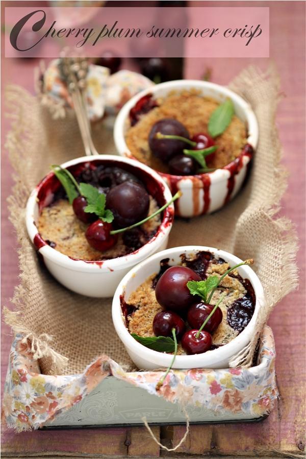 Baking | Cherry & Plum Crisp … Happy Mothers Day #stonefruitlove # ...