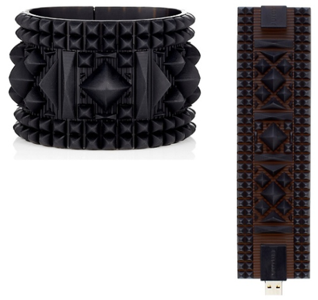 My Faves Journal Juicy Couture USB Pyramid Bracelet