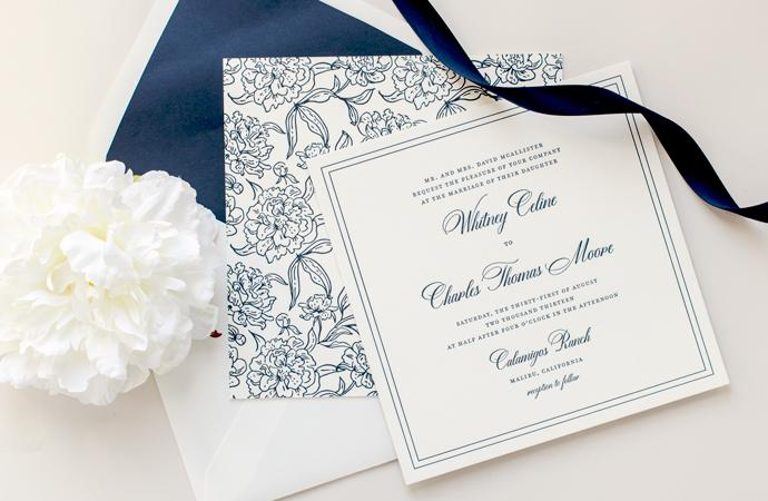 Calligraphy Wedding Invitations gangcraftnet – Wedding Invitations Calligraphy