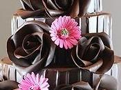 Stunning Chocolate Wedding Cakes