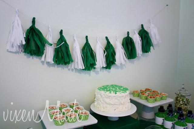 Football Themed 50th Birthday Party