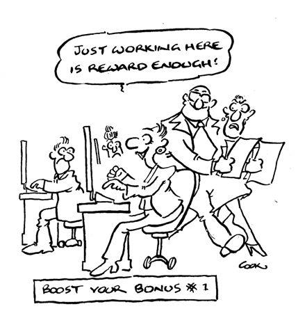 Rewarding work: bonuses and bailouts