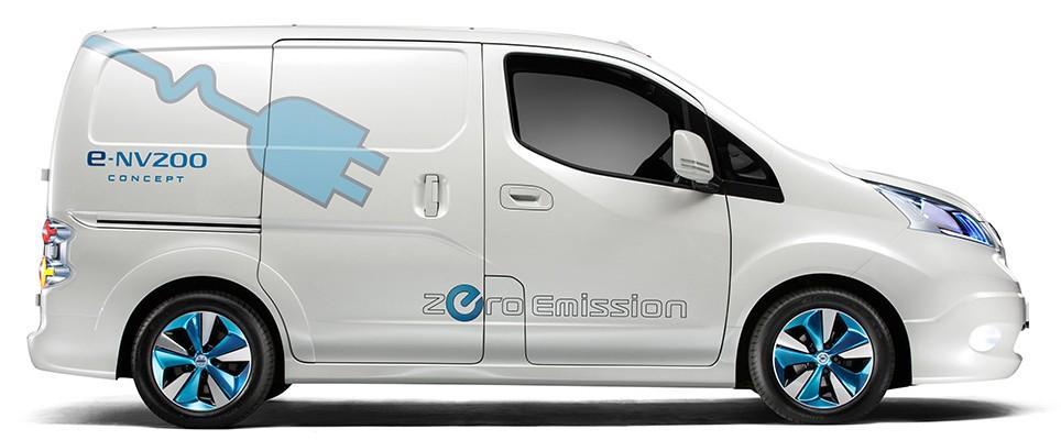 Nissan Field Tests Zero Emission Electric Van Paperblog