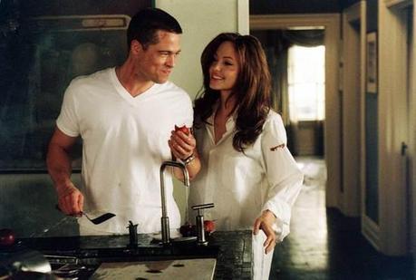 Brad Pitt and Angelina Jolie in Mr. & Mrs. Smith. (Twentieth Century Fox)