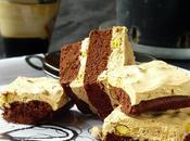 Pistachio Nougat Brownie