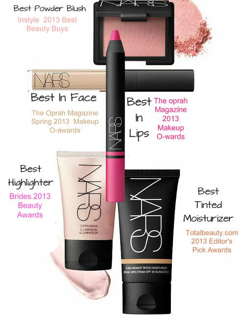 Top 5 Makeup Products by NARS in 2013