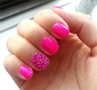 BYS caviar for nails hot talent