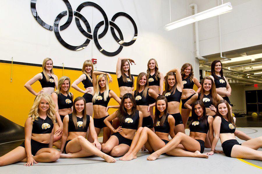 Iowa Hawkeyes Cheerleaders & Dancers Iowa Hawkeyes Cheerleaders & Dancers  ...