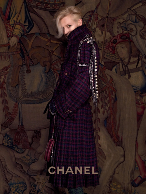 Tilda Swinton for Chanel Pre-Fall 2013 Paris-Edimbourg by Karl...