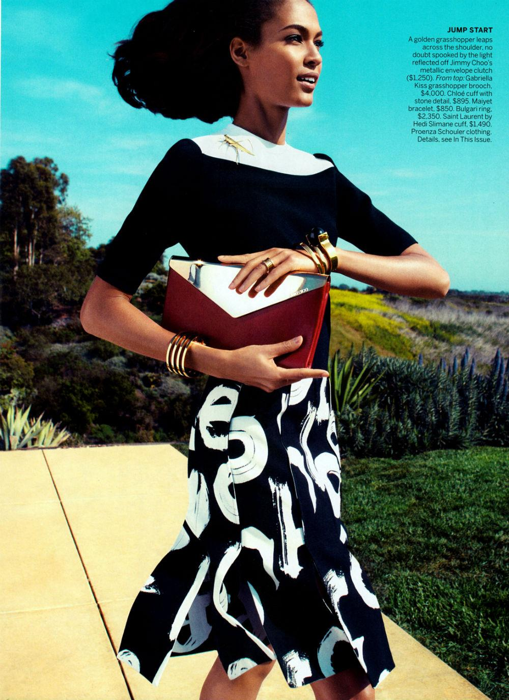 Joan Smalls by Camilla Akrans for Vogue US June 2013 3