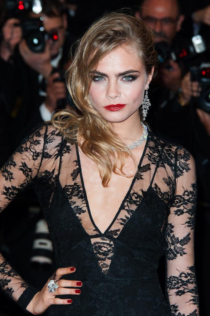 Cara Delevingne In Burberry at the 2013 Cannes Film Festival...