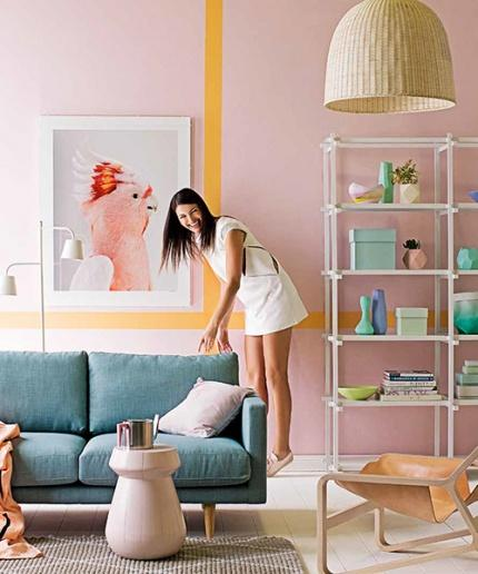 The charm of pastels in interior design