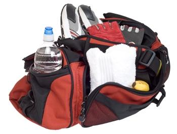 women's asics gym bags