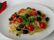 Fiery Spaghetti Puttanesca