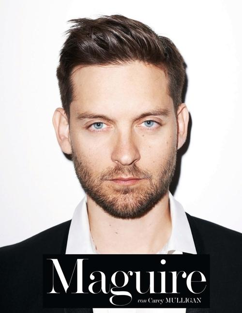 Tobey Maguire for Interview Germany June 2013 by Terry...
