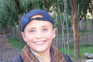 A very White looking Uighur boy. To me, he looks somewhat Russian or East Slavic, does he not?