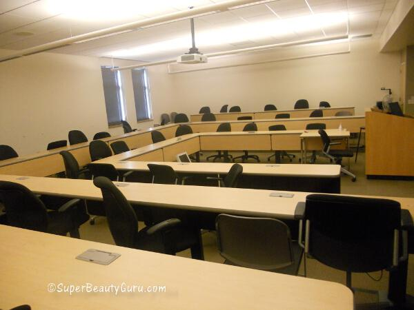 Philadelphia Universiy classroom