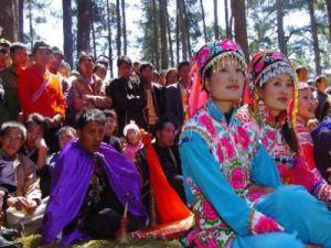 The Yi or Lolo, a Tibeto-Burman group from Yunnan.