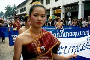 A very beautiful Laotian girl.