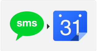 Quick-add google calendar events via SMS just by tagging #cal and adding time - IFTTT recipe