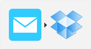 Save my email attachments to Dropbox - IFTTT recipe
