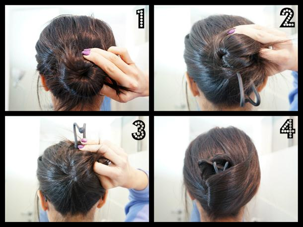 Awesome How To Create Updo Hairstyles Quick And Easy Paperblog Short Hairstyles Gunalazisus
