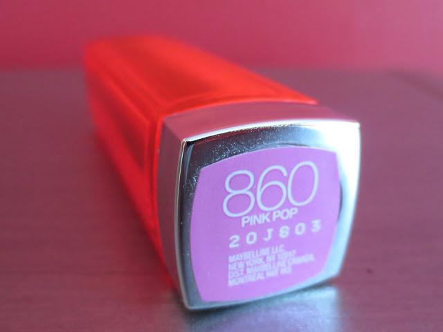 Maybelline Vivid Lipstick in Pink Pop