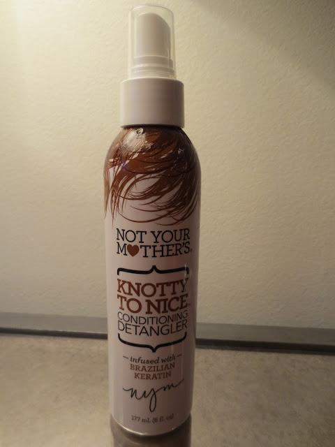Not Your Mother's Conditioning Detangler Review!