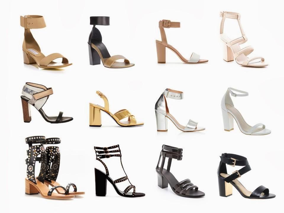 Trend Alert - The Chunky Heel Sandal - Paperblog