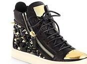 Giuseppe Zanotti Studded Leather High-Top Sneakers...
