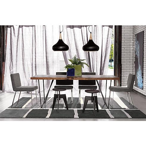 two of these over the dining table shades of gray and cb2 lighting - 2 Pendant Lights Over Dining Table