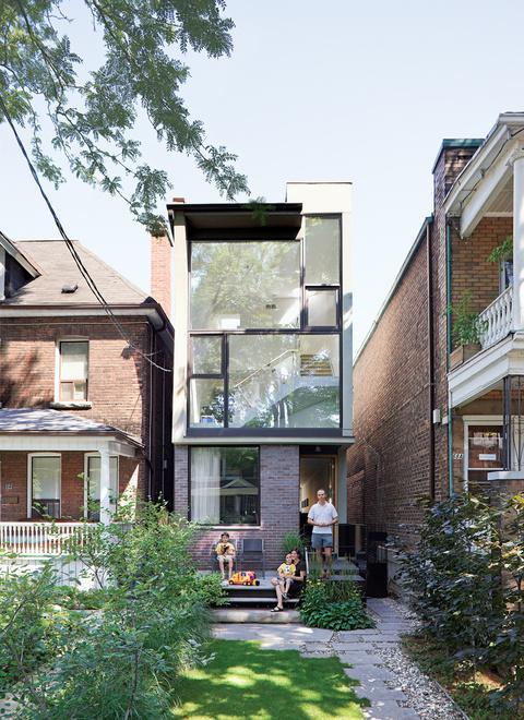 Small and Narrow Modern Houses - Paperblog