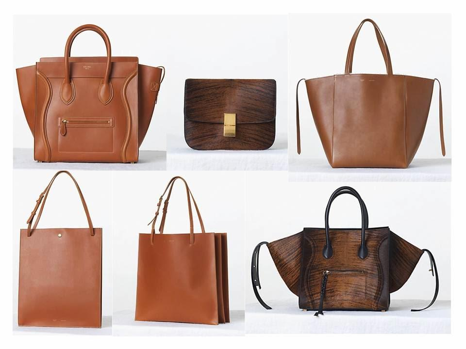 Tan is the Word - C��line Fall 2013 Bags - Paperblog