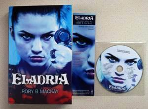 The book with soundtrack CD and Eladria bookmark.