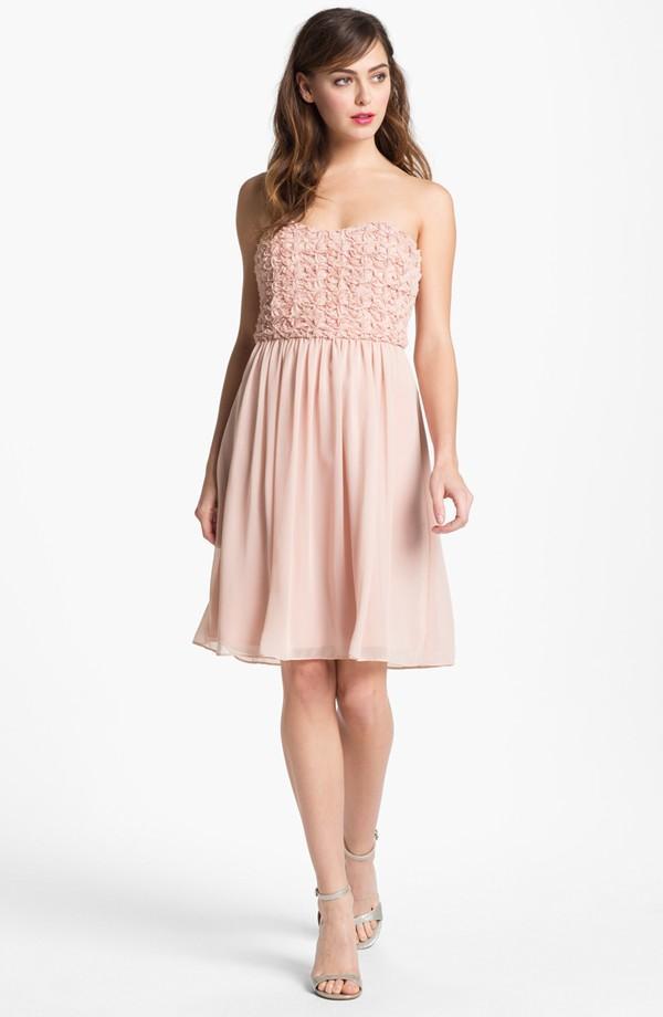 15 Blush Bridesmaid Dresses Under 250 Paperblog