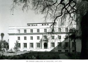 Image of the Crellin Laboratory taken around the time of its dedication in 1938.