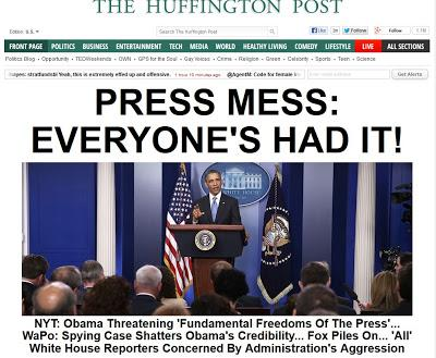Obama's 'War on Journalism' Unites Liberal And Conservative News Outlets and Bloggers