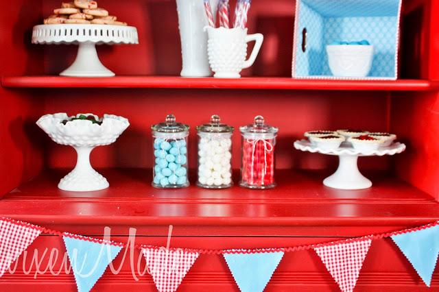 Retro Red & Blue Party