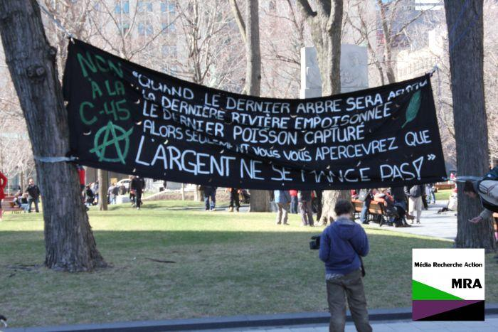 "Montreal: Subverting Earth Day – A reportback from the anticapitalist contingent at the ""March for the Earth"""