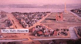 Washington view 1852