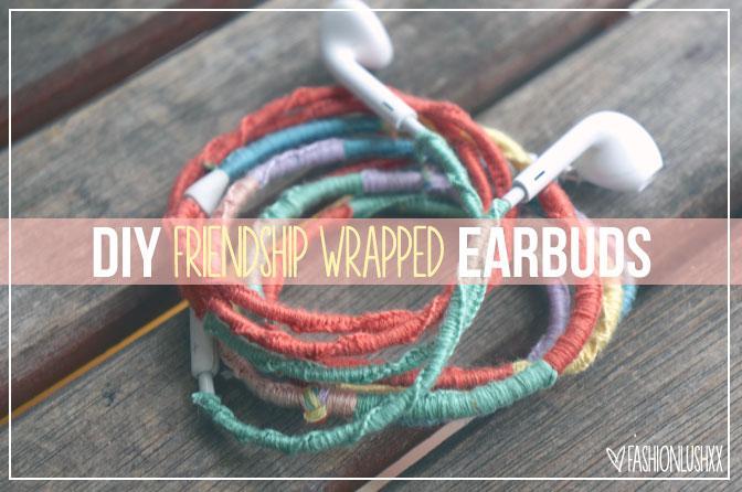 DIY Free People Wrapped Headphones